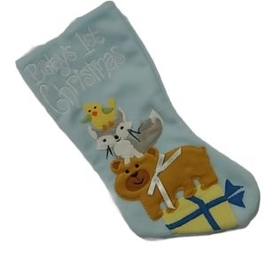 💗Baby's First Christmas Stocking NWT